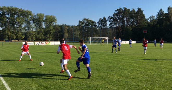 Domácí zápas mužů s Baníkem Lužice jsme vyhráli 3:0