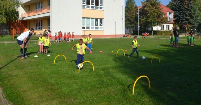 FC Vracov připravil pro děti z MŠ akci  Školka v pohybu